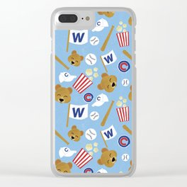 2016 World Series Champs Clear iPhone Case