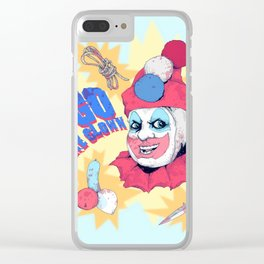 Pogo The Clown Clear iPhone Case