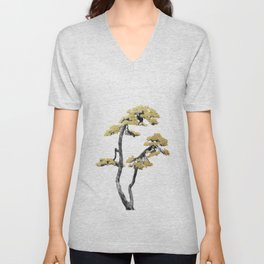 Bonsai Tree VI Unisex V-Neck