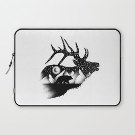 THE ELK AND THE BEAR Laptop Sleeve