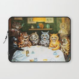 Kitty Happy Hour - Louis Wain's Cats Laptop Sleeve