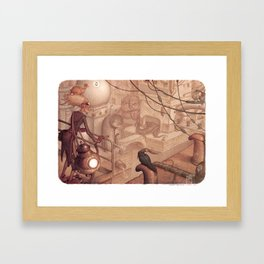 Steamtown Framed Art Print