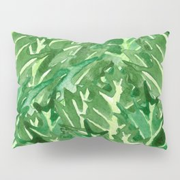Holly Jolly Leaves (Large Pattern) Pillow Sham