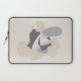 The Office II - Muted Abstract Laptop Sleeve