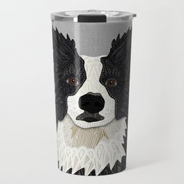 Beautiful Border Collie Travel Mug