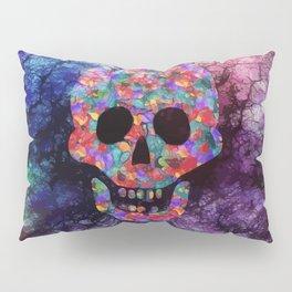 Happy skull Pillow Sham
