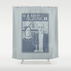 American Gothic II Shower Curtain
