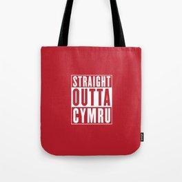 Straight Outta Cymru - Wales Rugby Tote Bag