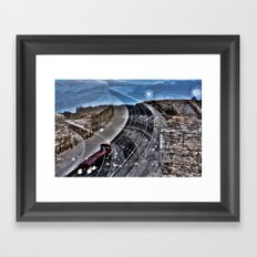 Highway Choices Framed Art Print