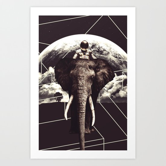Origin  Art Print