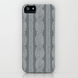 Cable Greys iPhone Case