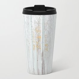 White tree forest Travel Mug