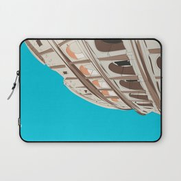 Rome, Italy Colosseum / Roma Il Colosseo, Italia Travel Poster Laptop Sleeve