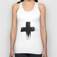 cross Tank Tops featuring Cross by RK // DESIGN
