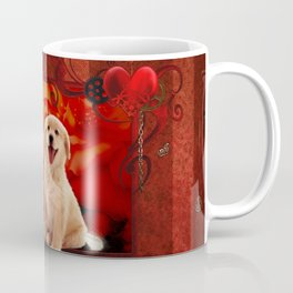 Sweet golden retriever Coffee Mug
