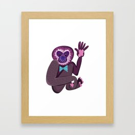 Cute Gorillas Framed Art Print