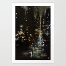 Christmas Dream Art Print