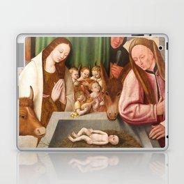 Nativity Painting - 16th Century Laptop & iPad Skin