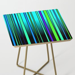 Fresh Blue Side Table