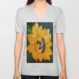 Sunflower Solo Unisex V-Neck