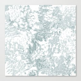 Country Blue and White Canvas Print