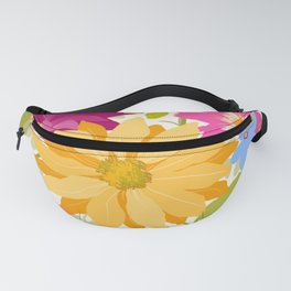 Bold Flowers Fanny Pack