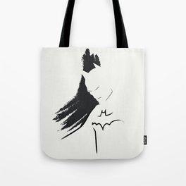 Bat Ink Tote Bag