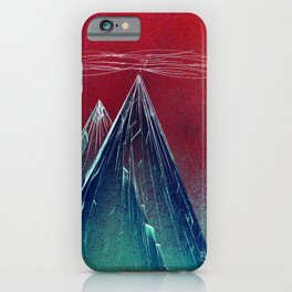 Glass Mass iPhone Case