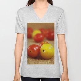 Tomato Unisex V-Neck