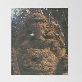 Stoned elephant 2 Throw Blanket