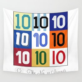 The No. 10 Legends Wall Tapestry