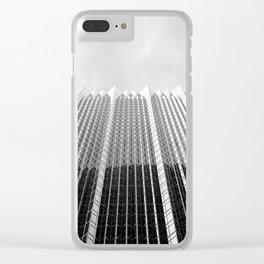 City Minimalism (b|w) Clear iPhone Case