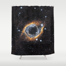 The Eye of the Universe Shower Curtain