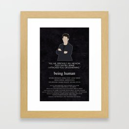 Being Human - Hal Yorke Framed Art Print