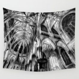The Haunted Cathedral Wall Tapestry