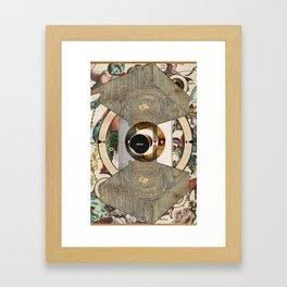 Target W15 - Non-linear Portrait of MC Escher Framed Art Print