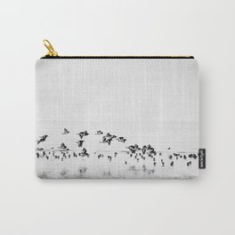 Wading birds in Flight Carry-All Pouch