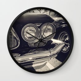 Vintage Car No.1 Wall Clock