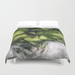 Feel the Wetness in the Air Duvet Cover