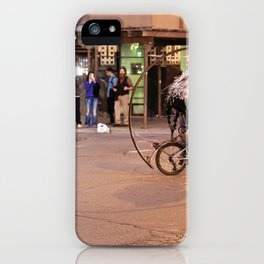 Performance Art on the Streets of Bucktown, Chicago 04 iPhone Case
