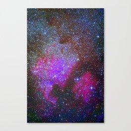 North America Nebula: Stars in the space. Canvas Print