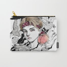 BTS V Carry-All Pouch