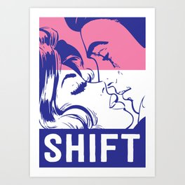 Shift Art Print