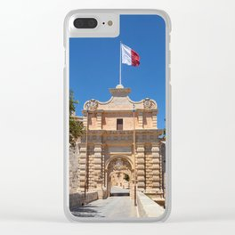 MALTA 06 Clear iPhone Case