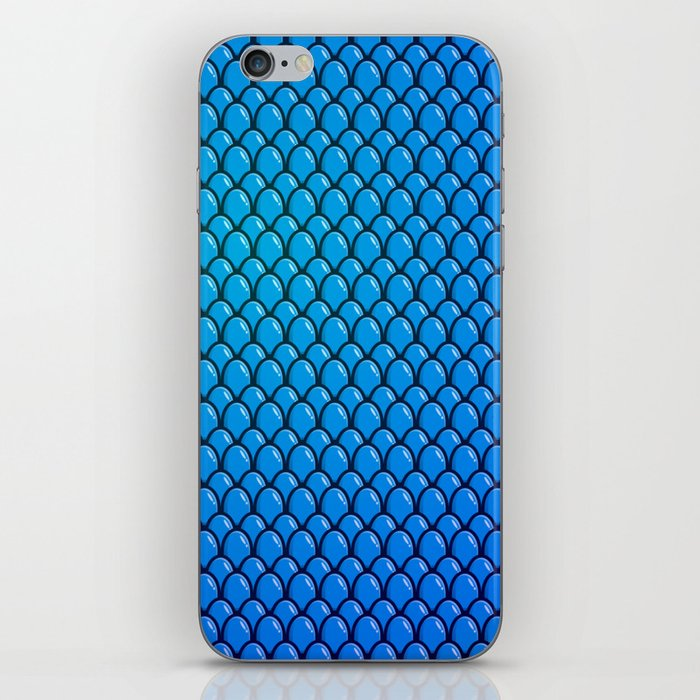Blue Dragon Scale iPhone Skin
