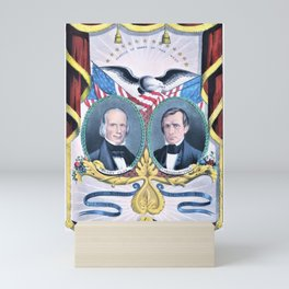 Nathaniel Currier - The Nation's Choice for President and Vice President - Clay and Frelinghuysen Mini Art Print