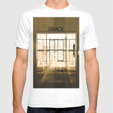 Urban Reflections Mens Fitted Tee White MEDIUM
