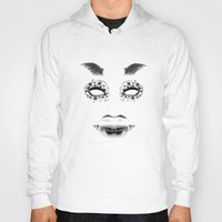 creepy Hoodies featuring creepy by karens designs