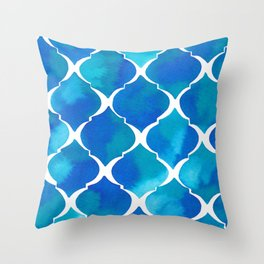 SEA TILES Throw Pillow