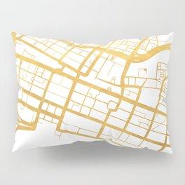 PERTH AUSTRALIA CITY STREET MAP ART Pillow Sham